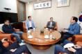 경북도의회 의장단, 군위‧의성군수 차례로 만나 통합신공항 문제 해결 촉구